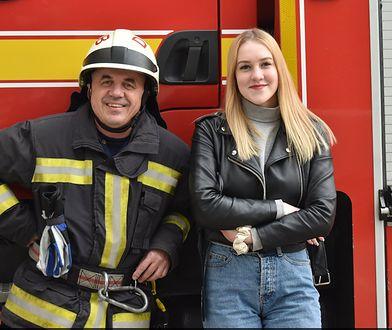 Uratował ją z pożaru, gdy była dzieckiem. Po latach się spotkali