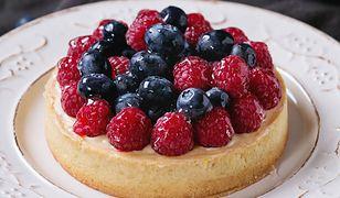 Kruche ciasteczka z owocami