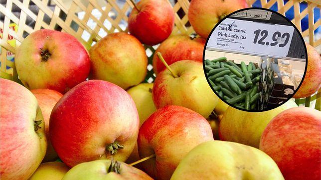 """Jabłka droższe niż banany czy morele. """"Takich cen nie było od 20 lat"""""""