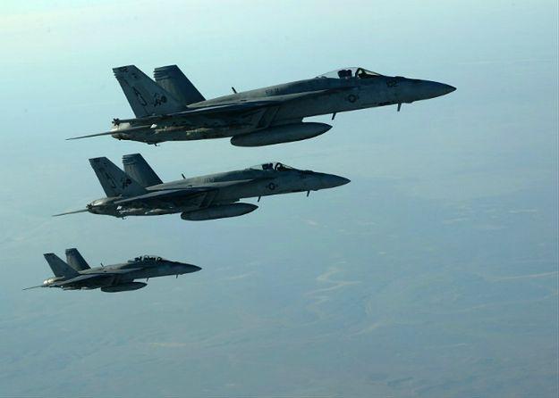 Incydent w powietrzu. Aktywność myśliwców Rosji sprowokowała amerykańskie F-18