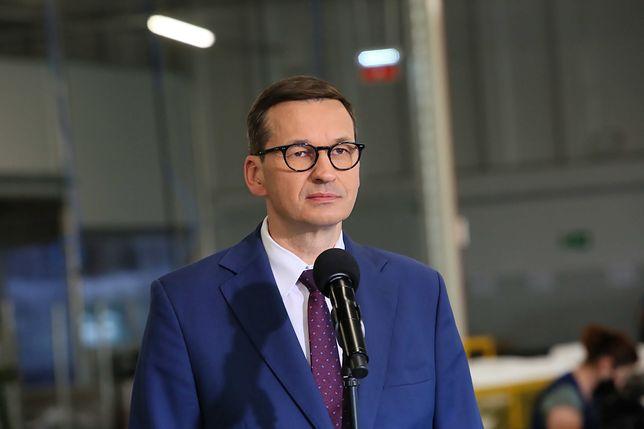 Premier Mateusz Morawiecki odpowiada Brukseli