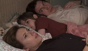 """Historia małżeńska"": Scarlett Johansson i Adam Driver w filmie Netfliksa."