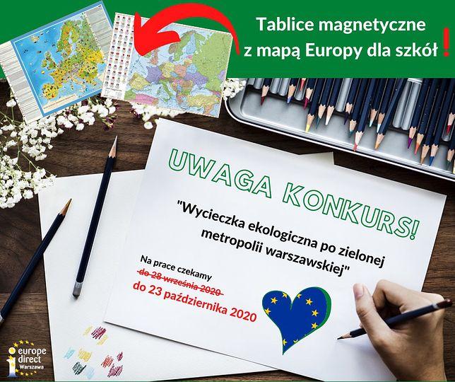 Startuje konkurs na plany wycieczek po metropolii warszawskiej