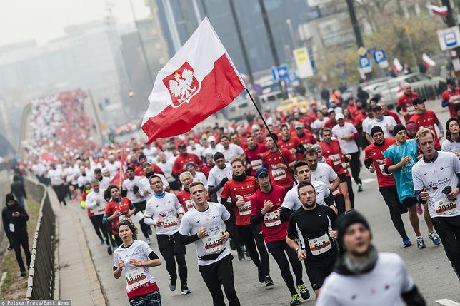 31. Bieg Niepodległości 2019 Warszawa. Sprawdź trasę i dystans tegorocznego biegu z okazji 11 listopada