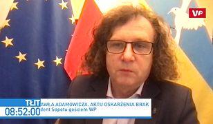 Jacek Karnowski oskarża Zbigniewa Ziobrę. Chodzi o sprawę śmierci Pawła Adamowicza
