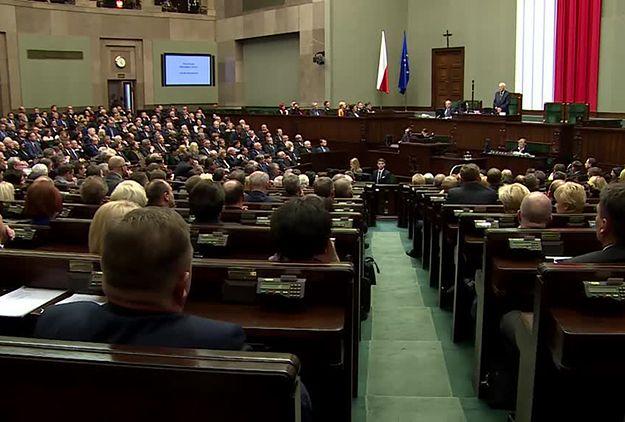 Sejm o poprawkach Senatu do ustawy o sędziach TK