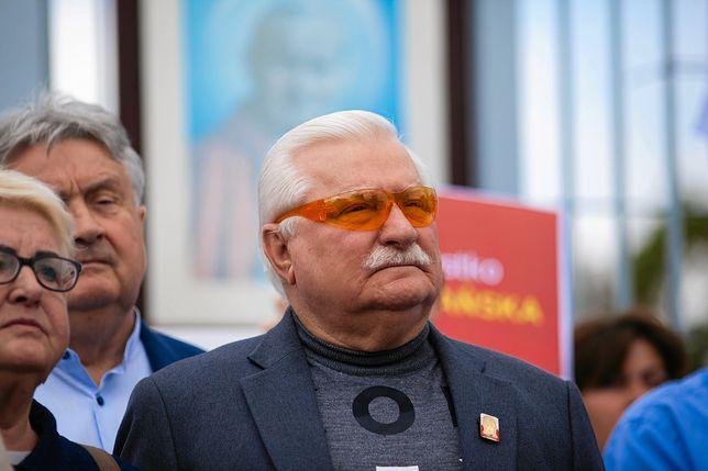 Wybory parlamentarne. Były prezydent Lech Wałęsa
