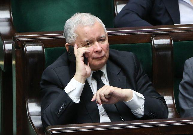 Jarosław Kaczyński rozmawiał o wieżowcach w centrum Warszawy