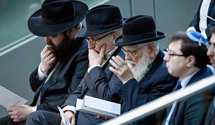 Polscy Żydzi i Romowie protestowali w Berlinie. Chcą emerytur za pracę w gettach