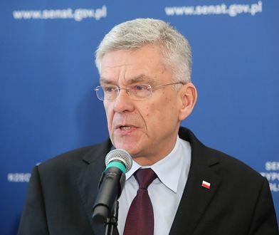W Kancelarii Senatu nie ma dokumentu o podjęciu pracy w szpitalu podczas urlopu przez Stanisława Karczewskiego