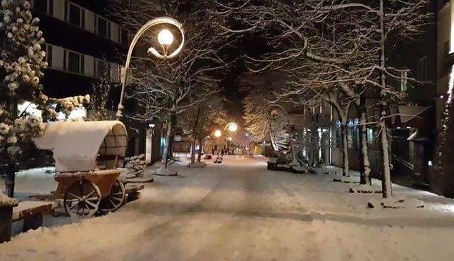 Śnieg już nie tylko w Tatrach. Biały puch sypnie dziś w innych częściach Polski