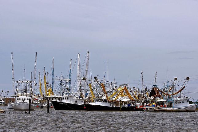 Port Fourchon, zdjęcie ilustracyjne