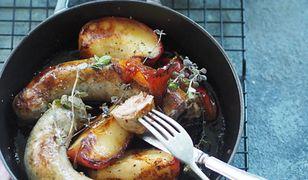 Białe kiełbaski z jabłkami. Prosto i wykwintnie nie tylko na Wielkanoc