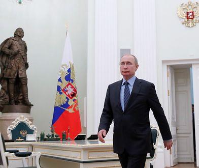 Putin ostrzega: Rosja ma prawo do działań ws. Ukrainy