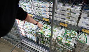 zakupy nabiał biedronka dyskont ceny ser twaróg