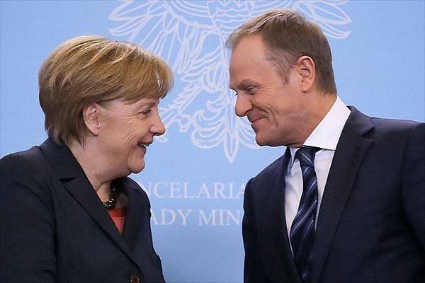 Angela Merkel: wybór Donalda Tuska na szefa Rady Europejskiej ma wielkie symboliczne znaczenie