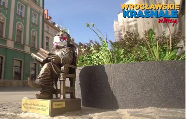 Wrocław. Koronawirus. Wszystkie krasnale przepisowo noszą maseczki