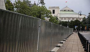Jeszcze w tym roku Sejm może zostać ogrodzony