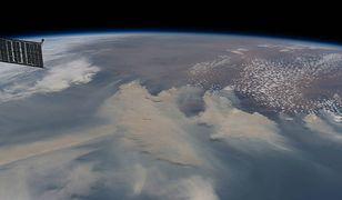 Dym z pożarów w Australii okrąży Ziemię. Szokujące zdjęcie NASA