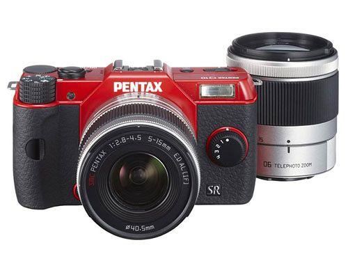 Trzy nowe aparaty Pentax