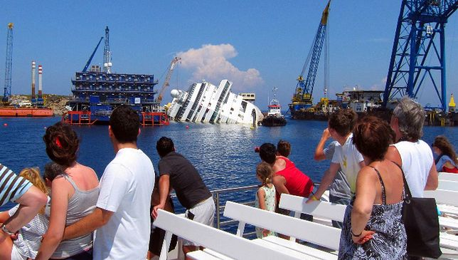 Włochy - wkrótce podniesienie Costa Concordia