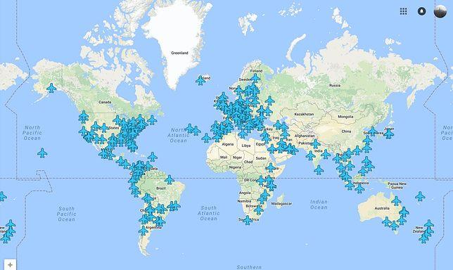 Mapa haseł Wi-Fi z lotnisk na całym świecie