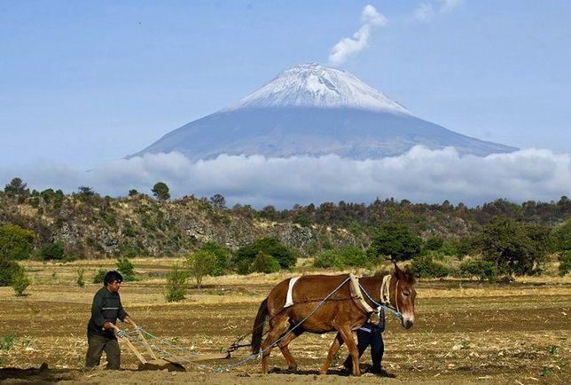 Meksyk - wulkan, który rośnie w siłę