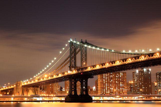 Nowy Jork - Brooklyn Bridge zamknięty