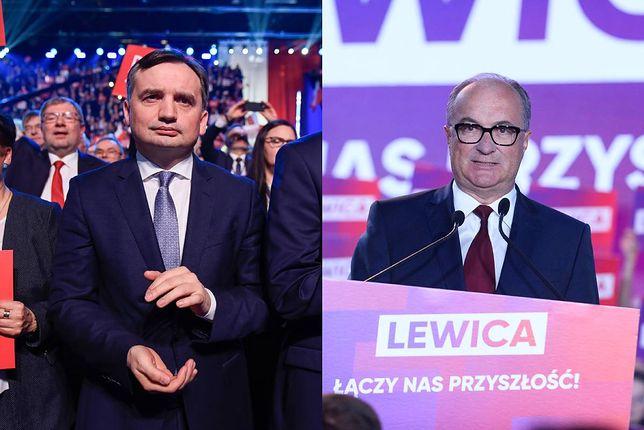 Zbigniew Ziobro i Włodzimierz Czarzasty