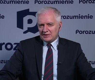 Roman Giertych i afera ws. Łukasza Szumowskiego. Jarosław Gowin komentuje