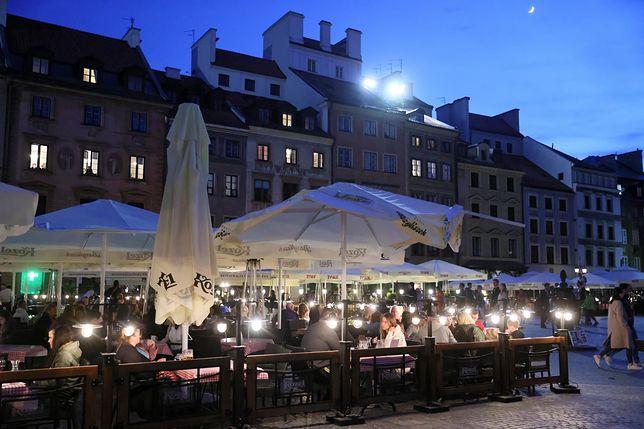 Warszawa. Restauratorzy złożyli prawie 400 wniosków o ogródki gastronomiczne