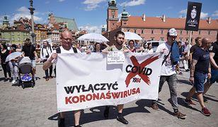 """Koronawirus w Polsce. Będzie protest przeciwko """"straszeniu pandemią"""""""