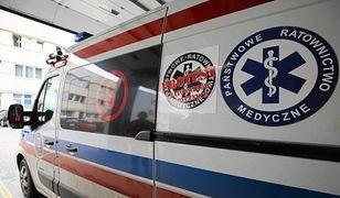 Śmierć noworodka z rozbitej karetki. Prokuratura wszczęła śledztwo