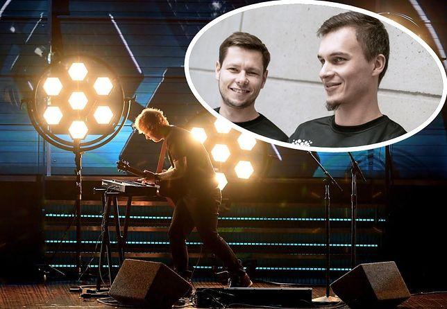 Założyciele Portman Lights – Dominik Zimakowski i Łukasz Sztejna – oświetlali m.in. koncert Eda Sheerana.