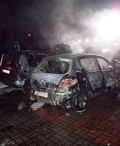 W Licheniu spłonęły auta należące do księży