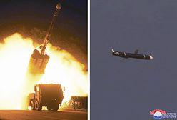 Korea Północna w natarciu. Po niebie latały niezidentyfikowane pociski