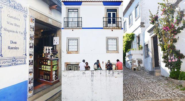 Óbidos - miasteczko oddalone godzinę od Lizbony.