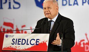 Jarosław Kaczyński zapowiedział w Siedlcach utworzenie osobnego województwa z Warszawą i okolicami
