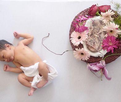 Miała lotosowy poród. Jej córka przez tydzień spała z łożyskiem