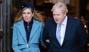 Boris Johnson i Carrie Symonds ogłosili imię dziecka. Znajdowało się na czele w zakładach Brytyjczyków