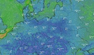 Prognoza pogody. Spadnie deszcz i śnieg