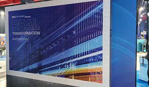 Nietypowy bilbord reklamowy firmy Dell
