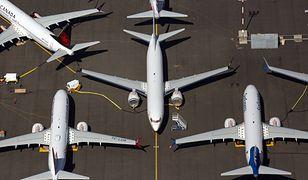"""Samoloty Boeing 737 MAX """"zaparkowane"""" w Seattle."""