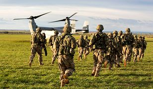 Wojsko USA podczas ćwiczeń