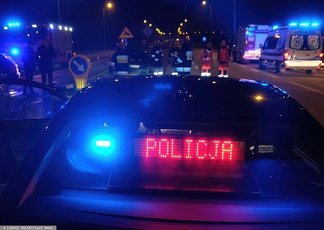 Zgłoszenie o wypadku policja otrzymała nad ranem