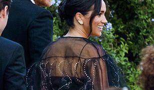 Księżna Meghan w prześwitującej sukni na weselu. Kosztowała krocie