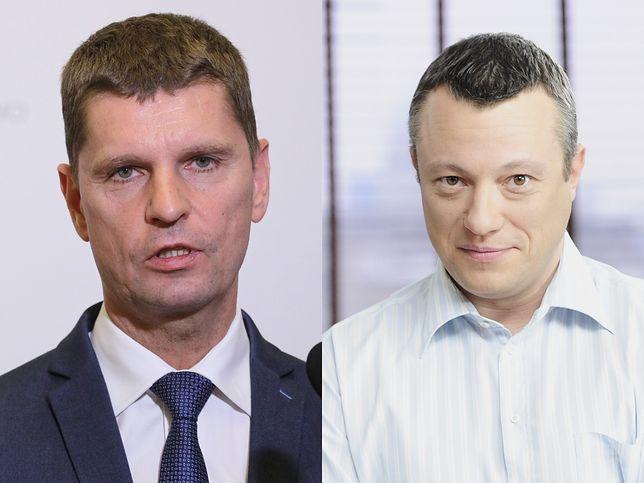Szef MEN Dariusz Piontkowski zadał zaskakujące pytanie dziennikarzowi TVN