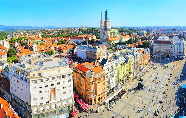 Panorama centrum Zagrzebia