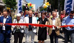 """Pierwszy """"woonerf"""" w Gdyni powstał na ul. Abrahama"""