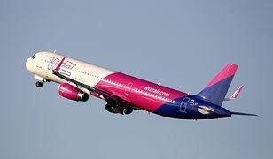 Na oficjalnej stronie Wizz Aira widnieje informacja o braku lotu